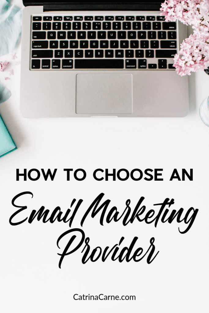 Get started with email marketing - this is perfect for new bloggers or online business owners. Email marketing is so important and we're going through email providers so you can pick the best one for you. #blogging #newblogger #bloggingforbeginners #emailmarketing #emailforbloggers